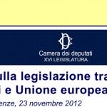 Stato, Regioni e Unione Europea: i poteri pubblici di fronte alla crisi.